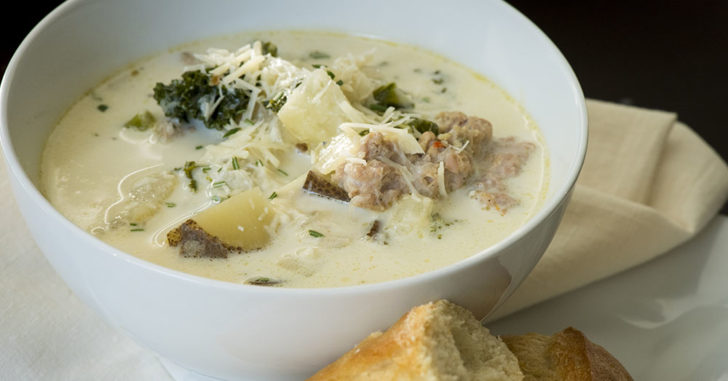 Olive Garden Style Slow Cooker Zuppa Toscana 12 Tomatoes