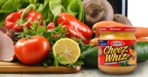 Kraft Cheez Whiz Goes Organic