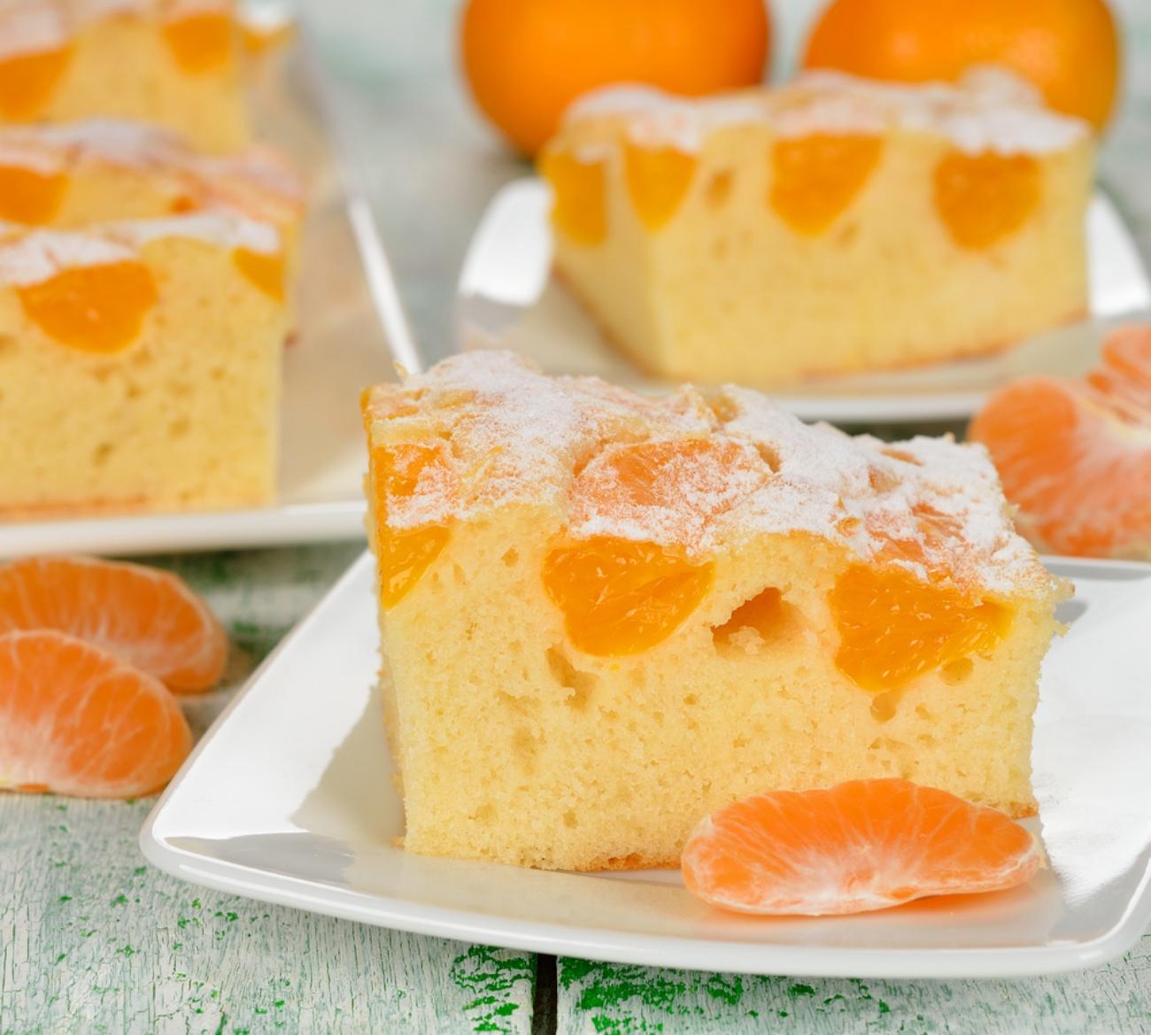 Mandarin Pound Cake