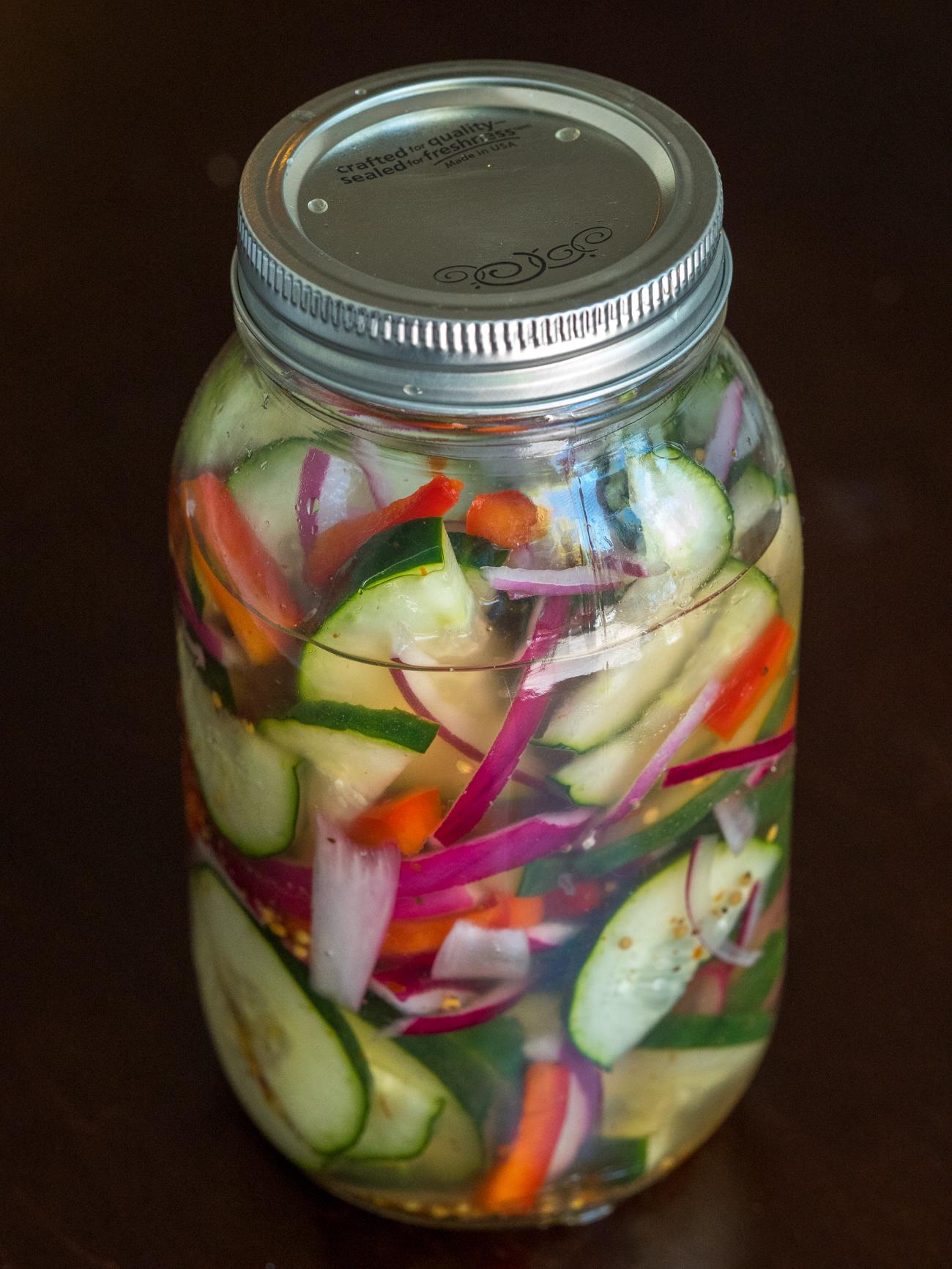Cucumber Salad Canning Recipe