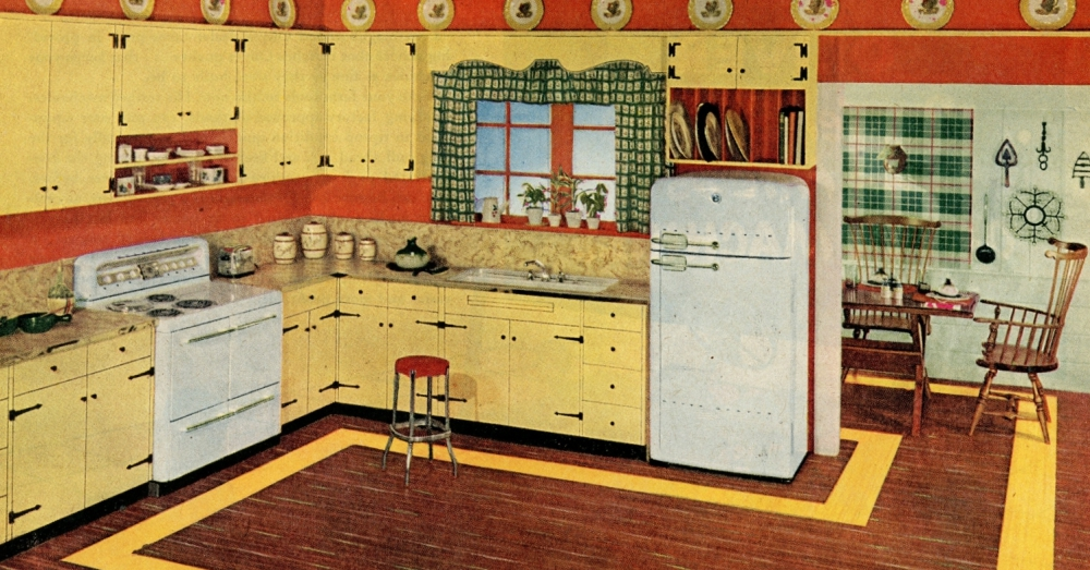 12 Vintage Kitchen Decor Ideas We Need To Bring Back For Today S Kitchens Tomatoes