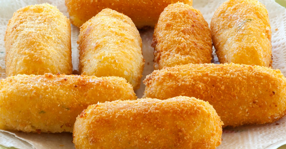 Easy Cheese And Potato Croquettes 12 Tomatoes
