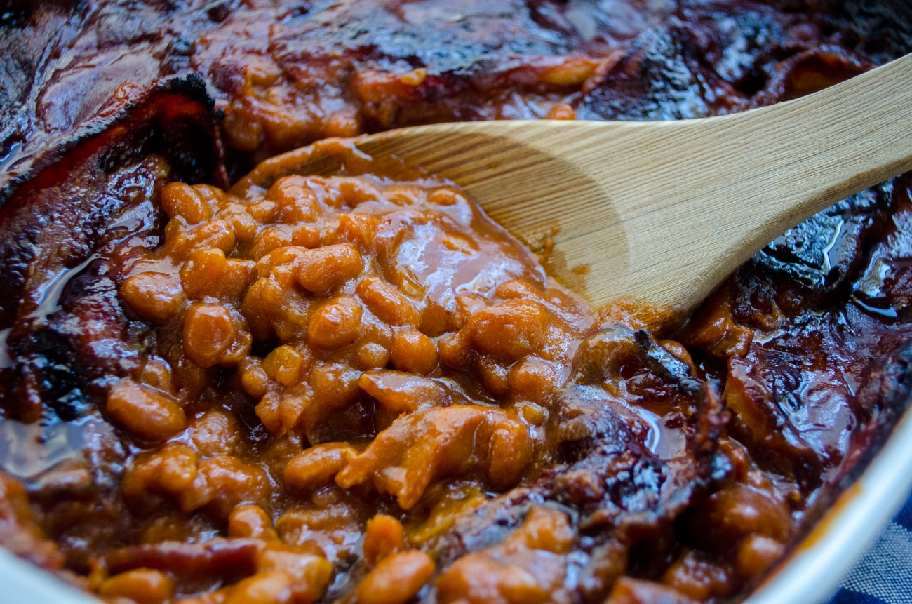 Best Ever Southern Style Baked Beans 12 Tomatoes