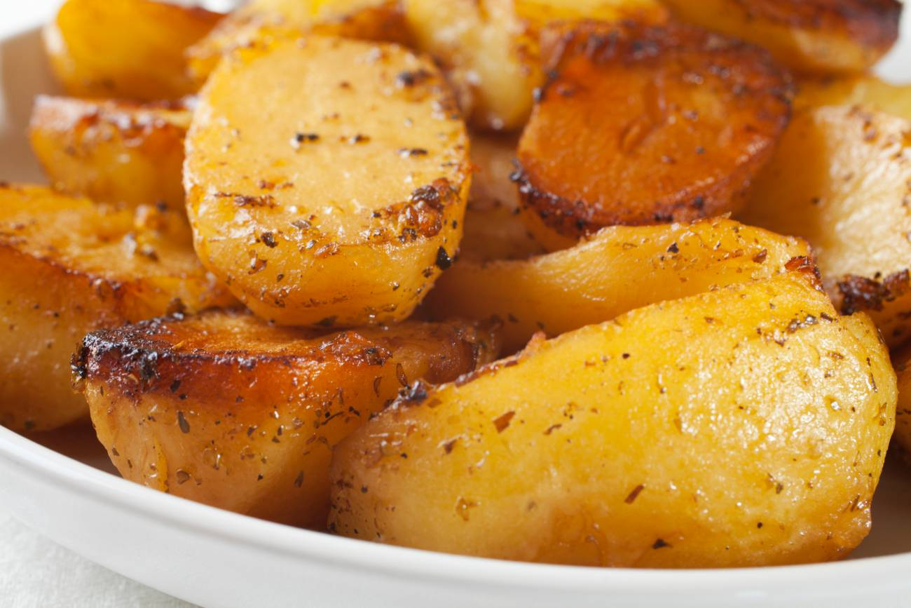 Buttery Roasted Potatoes 12 Tomatoes