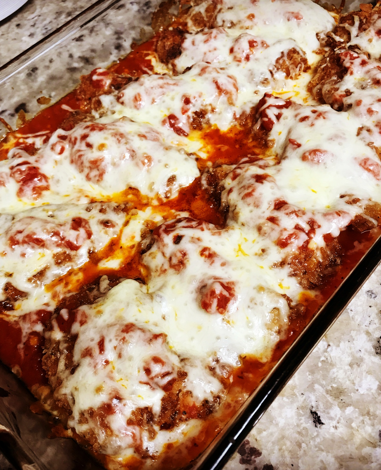 Chicken Parmesan Bake 12 Tomatoes