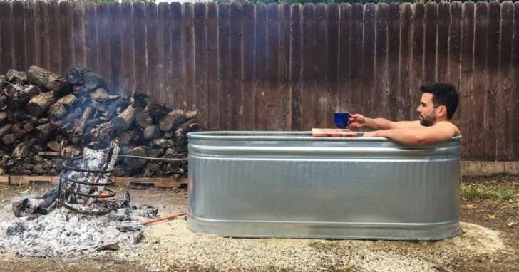 Stock Tank Hot Tub DIY