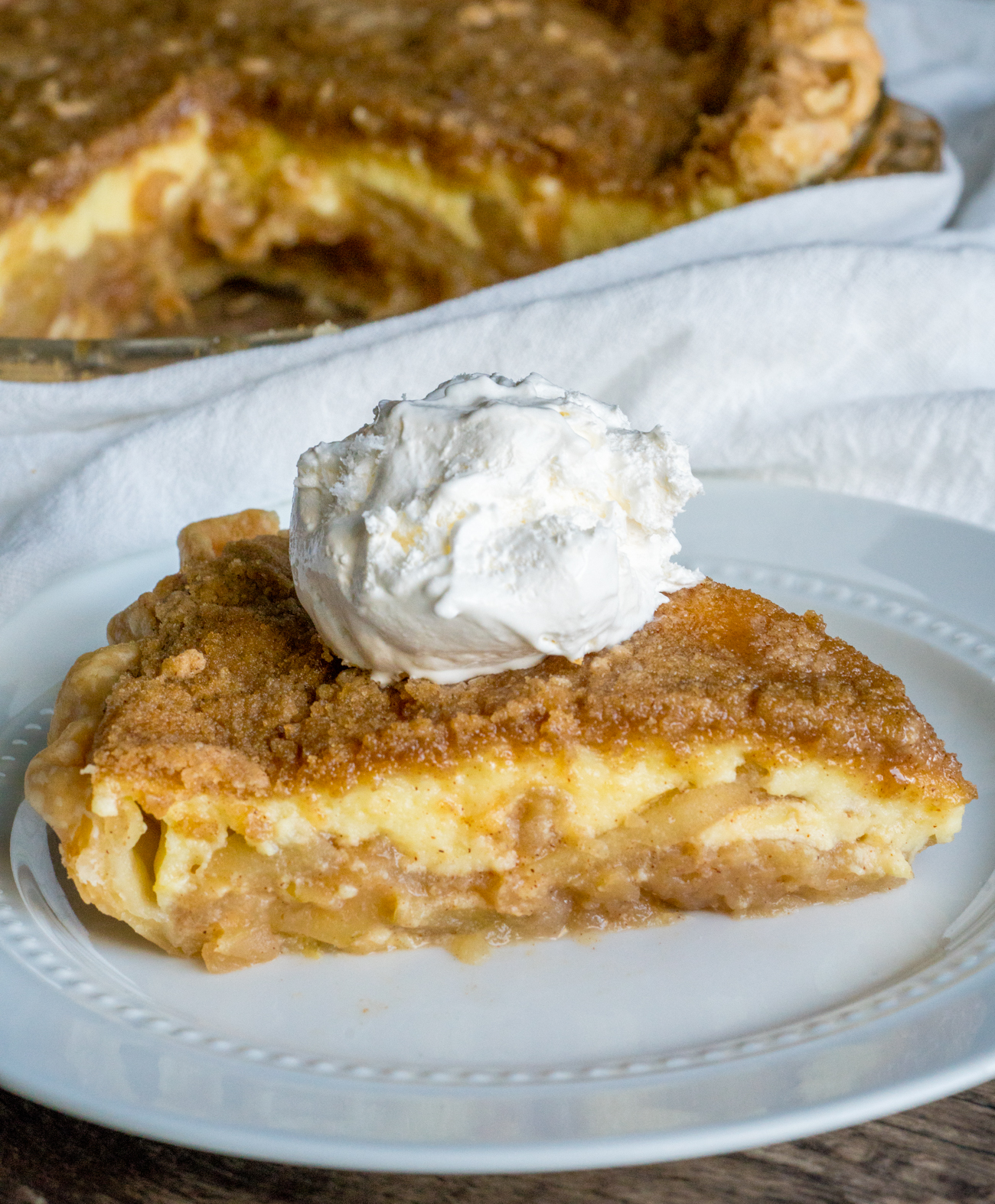 Apple Buttermilk Custard Pie 12 Tomatoes