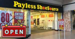 Payless may be coming back from bankruptcy
