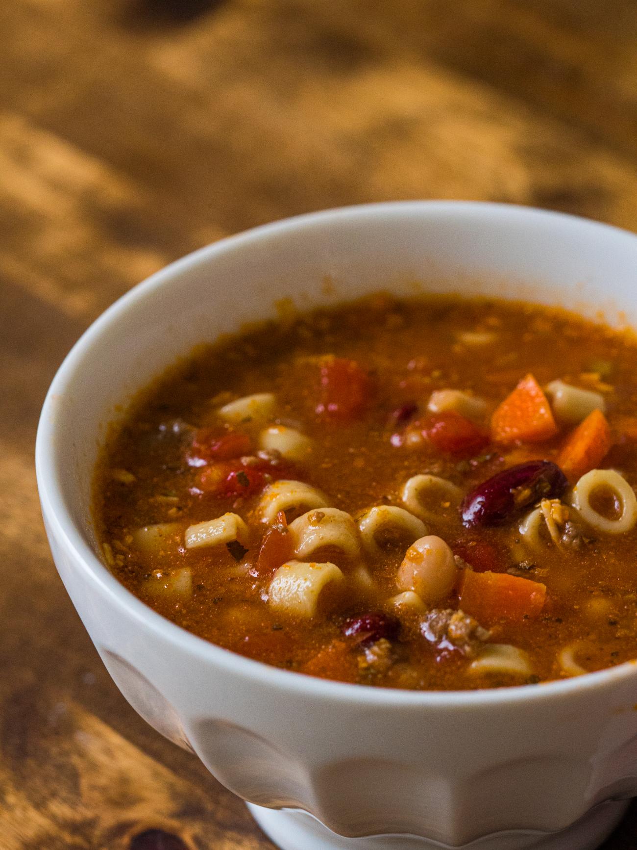 Copycat Olive Garden Pasta E Fagioli 12 Tomatoes