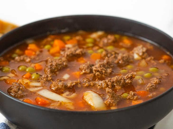 V8 Soup Recipe Ground Beef