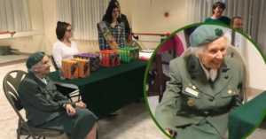 Ronnie Backenstoe is still selling Girl Scout cookies at 98-years-old
