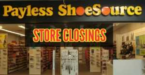 Payless closing all its stores
