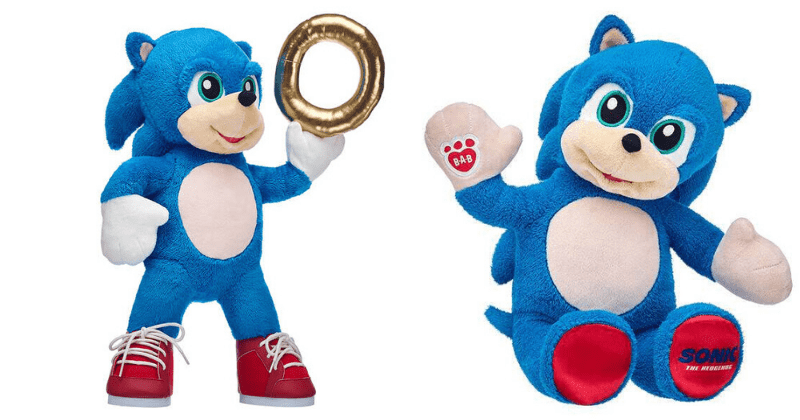 Build A Bear Releases A Sonic The Hedgehog Plush Toy 12 Tomatoes