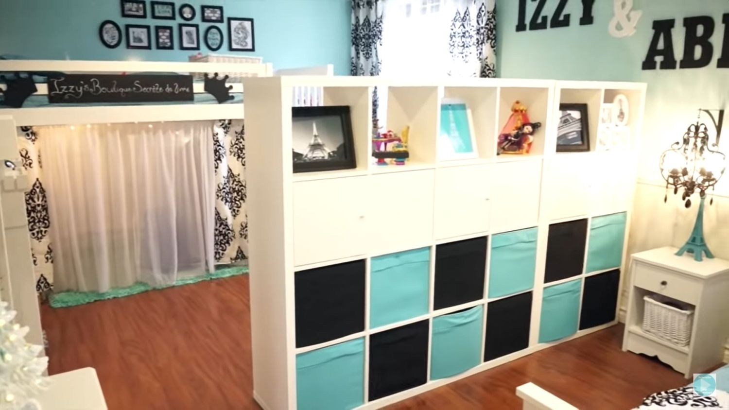 Crafty Mom Divides One Bedroom Into Two