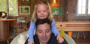 Jimmy Fallon Does The Tonight Show At Home And His Kids Steal The Show