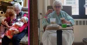 Geneva Wood, 90-year-old coronavirus survivor