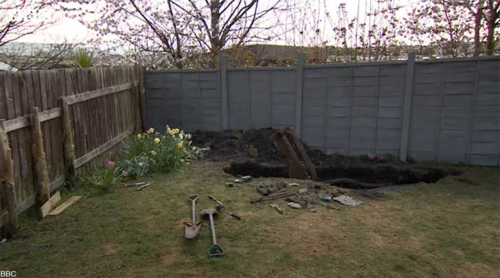 Man Finds Classic Car Buried in His Garden During Lockdown