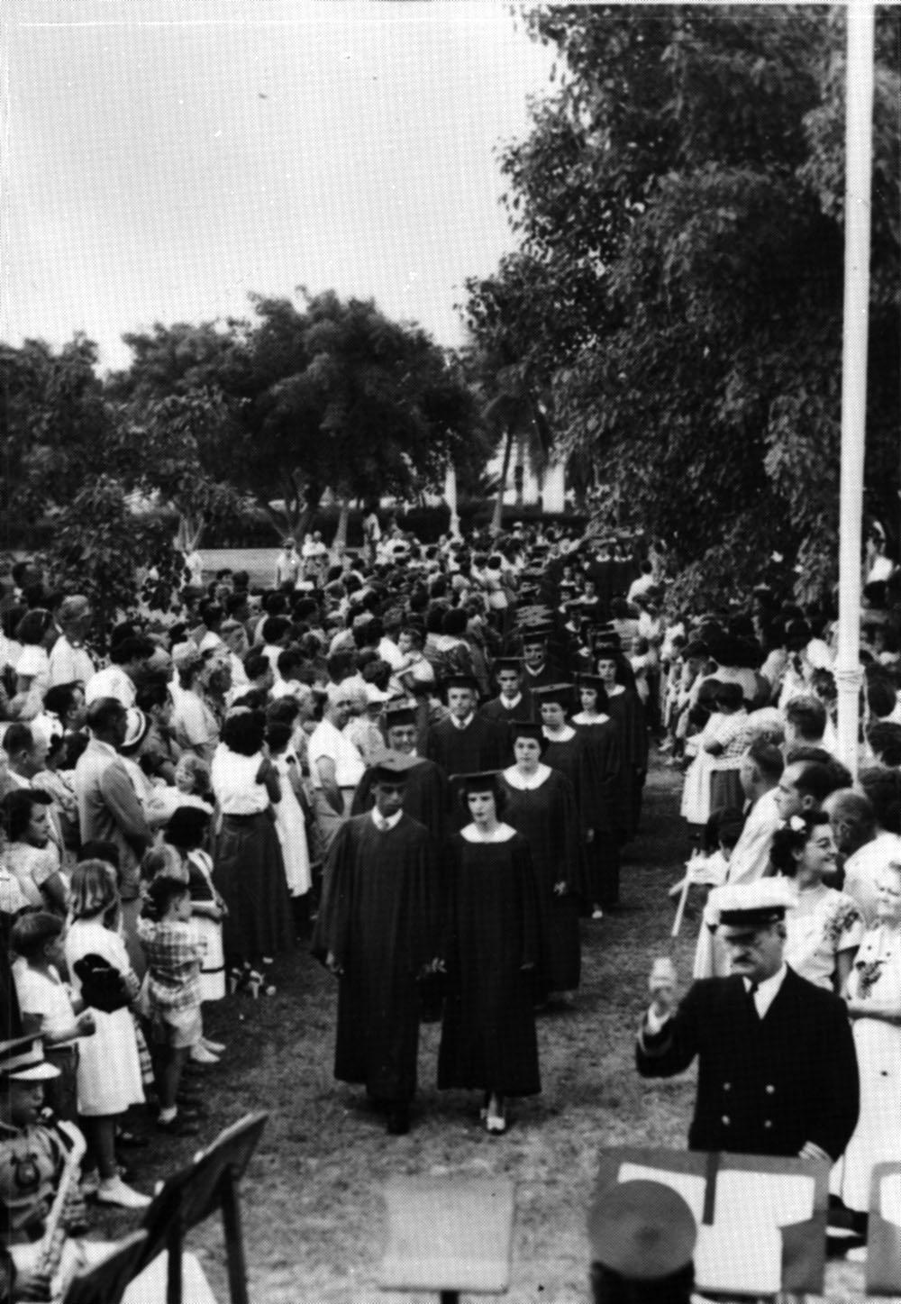 graduating class of 1950, Key West Floria