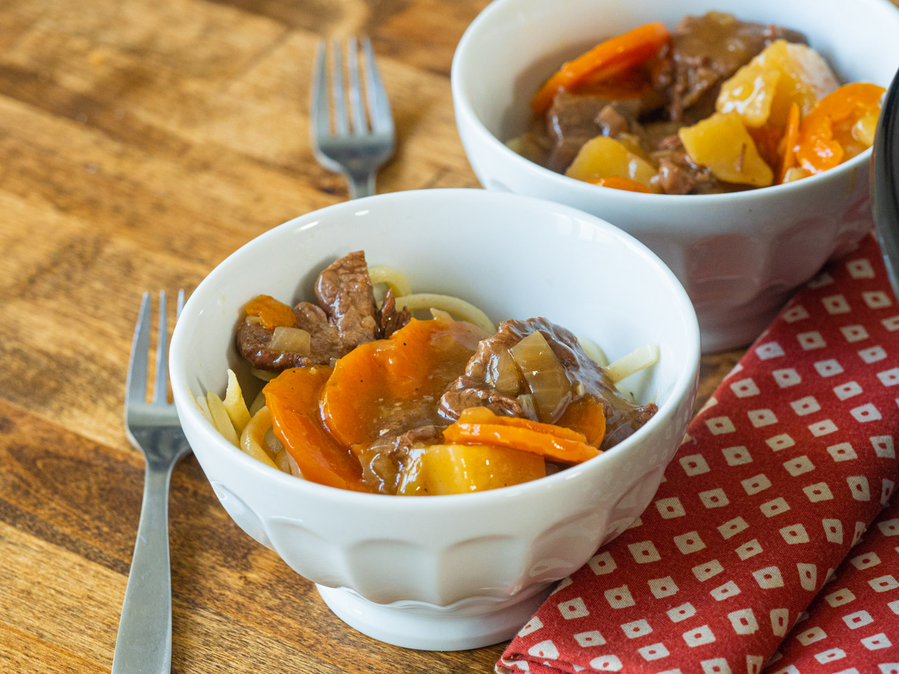 Slow Cooker Ginger Beef Stew