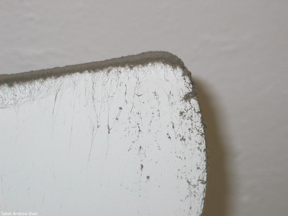 dirty ceiling fan blade