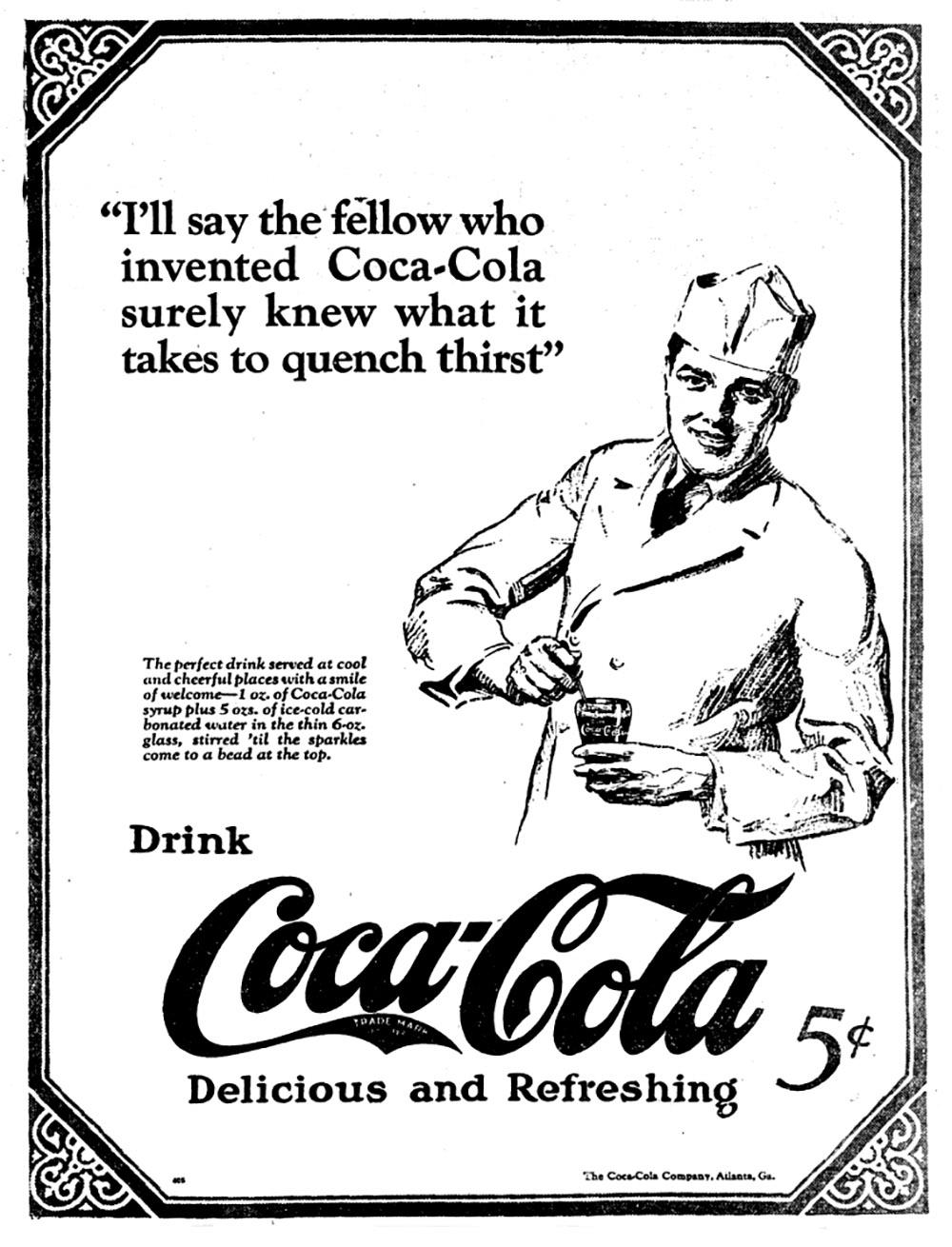 1924 Coca-Cola advertisement