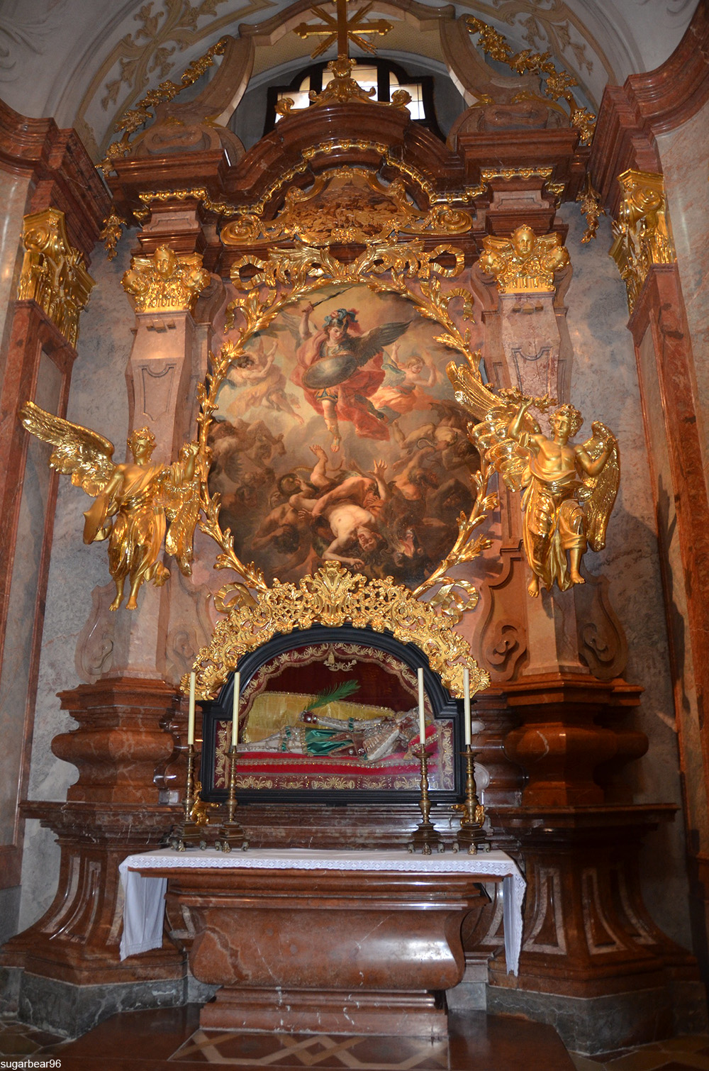altar to Saint Coloman at Melk Abbey