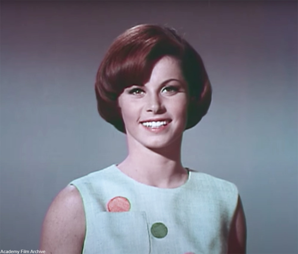Stephanie Powers costume Screen test for Love Has Many Faces