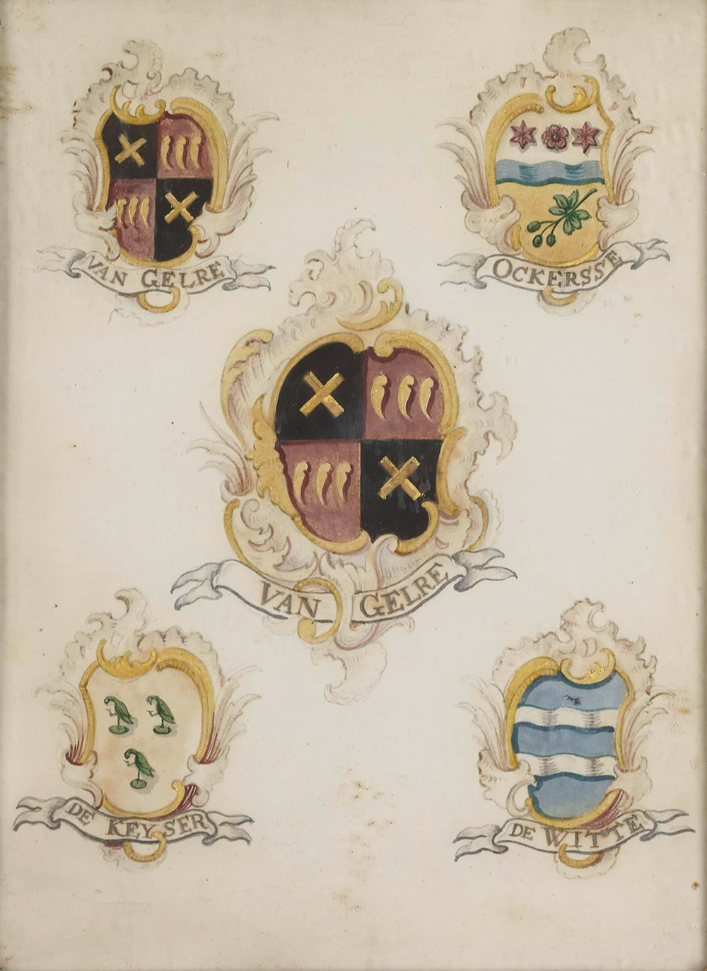 family crests from the Netherlands