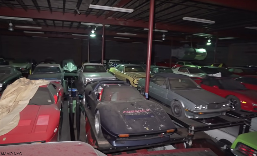 rare car collection seen for the first time