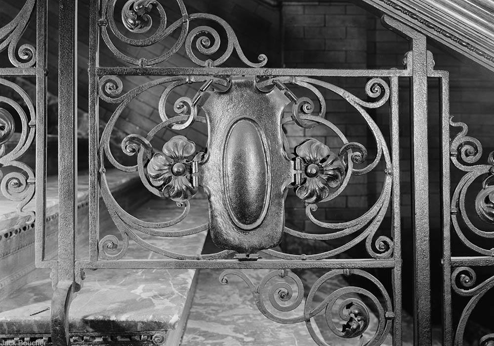 Bradbury Building staircase railings