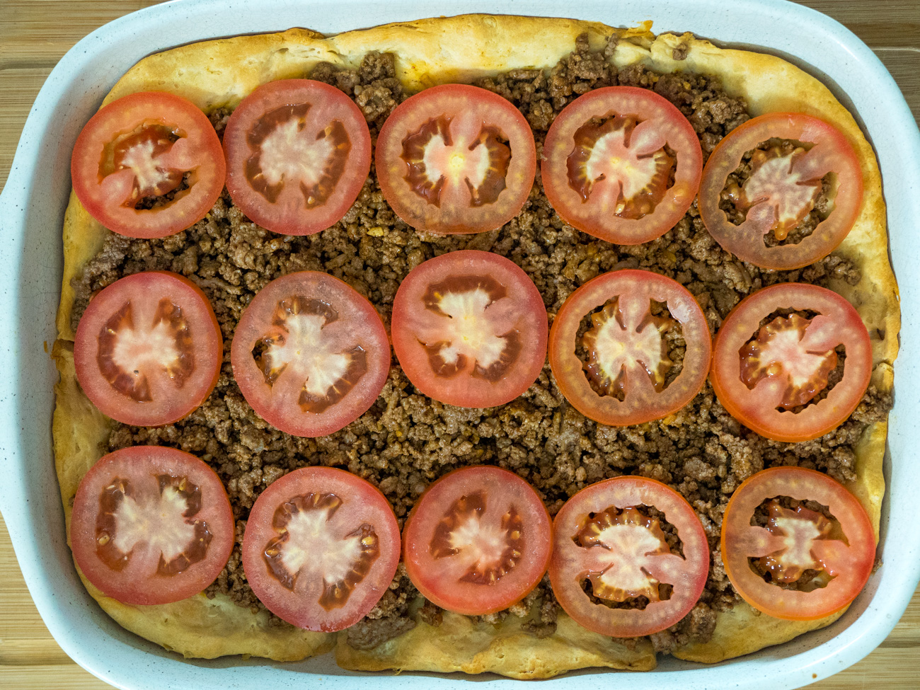 John Wayne casserole preparation