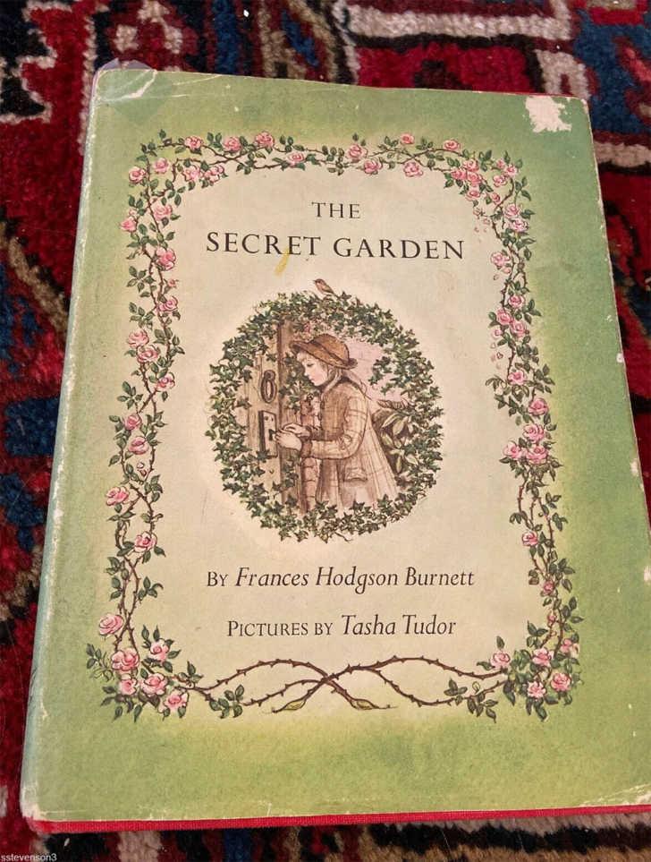 cover of The Secret Garden 1962