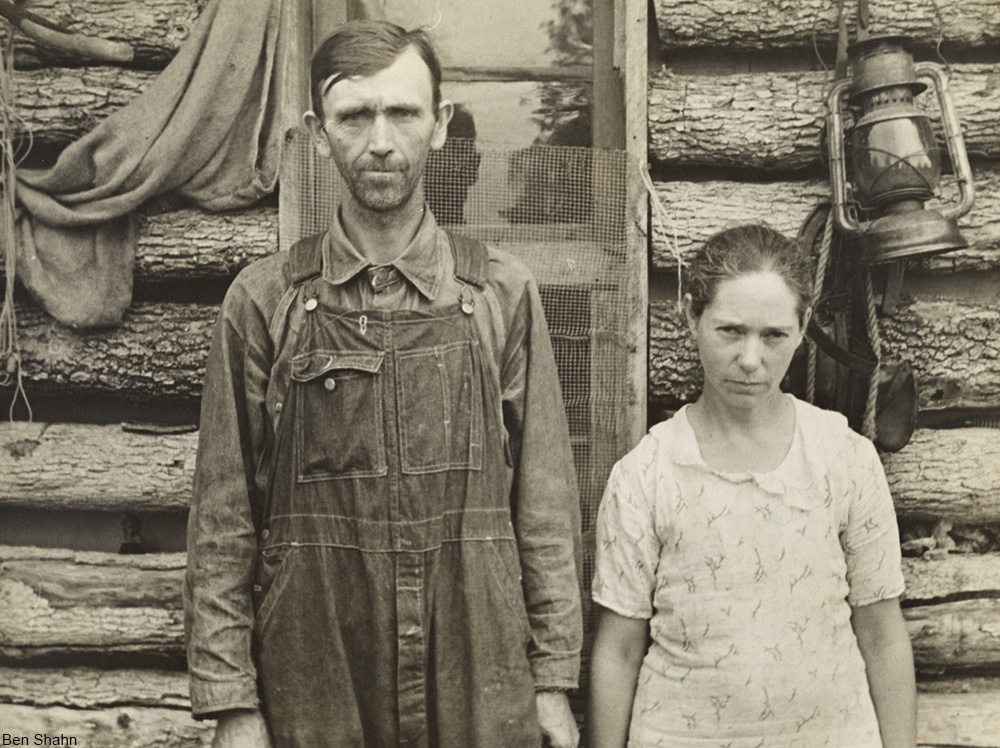 Ozarks. Rehabilitation clients, Boone Co, Arkansas, 1935.