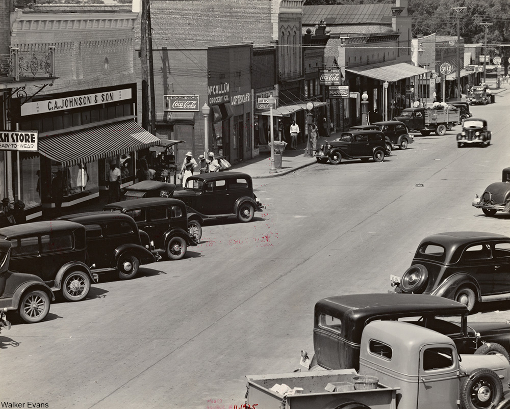 County seat of Hale County, Alabama, 1930s
