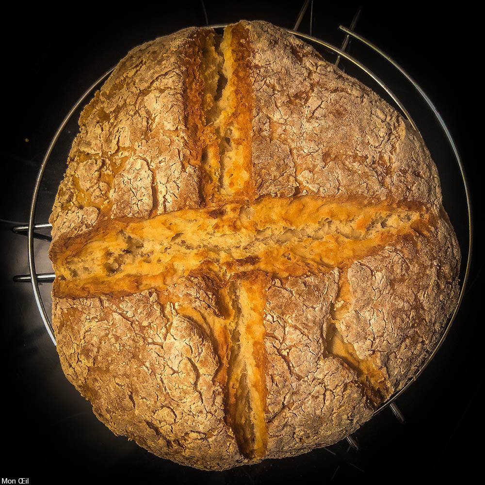 loaf of soda bread
