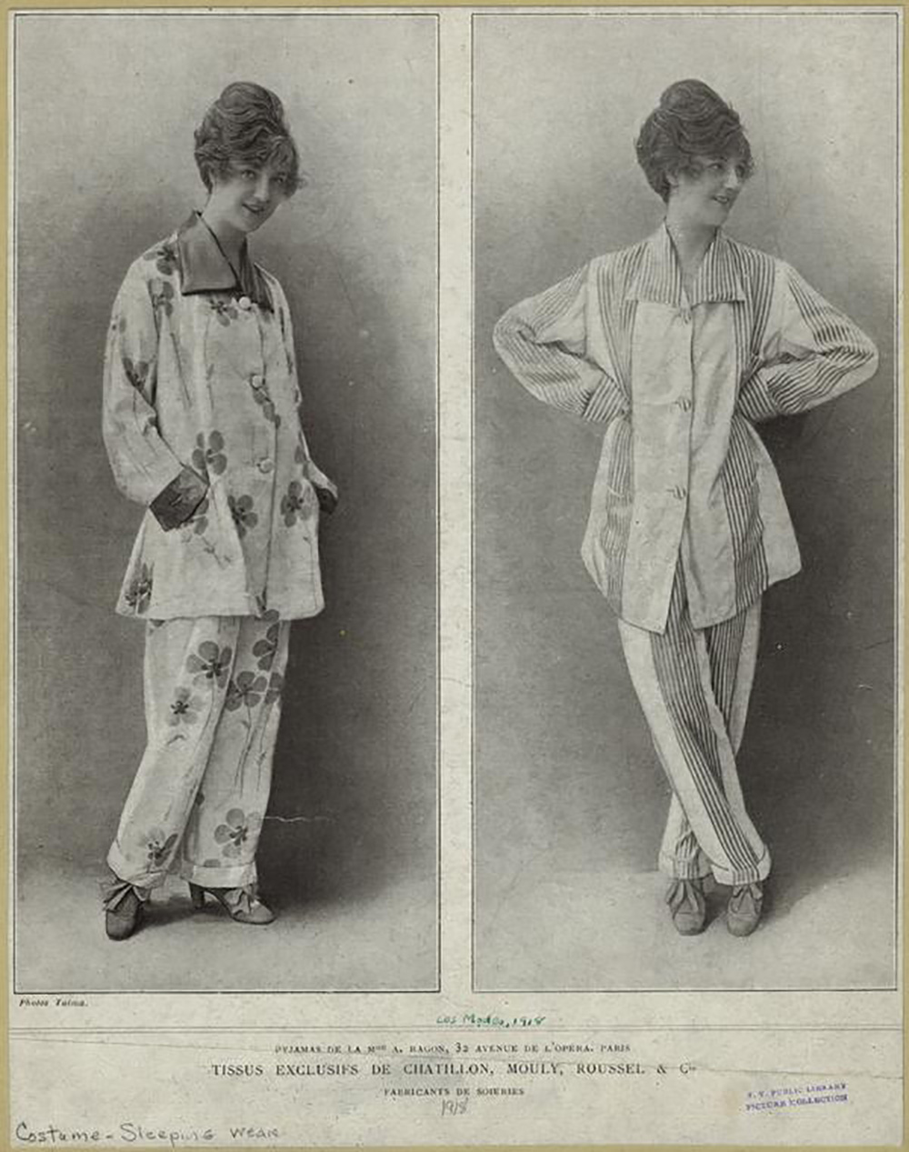 ladies pajama sets from 1918