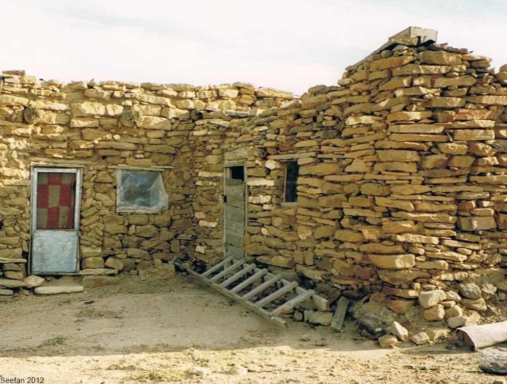 house on a Hopi reservation in Arizona
