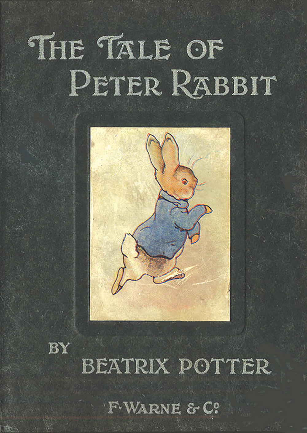1902 cover of Peter Rabbit