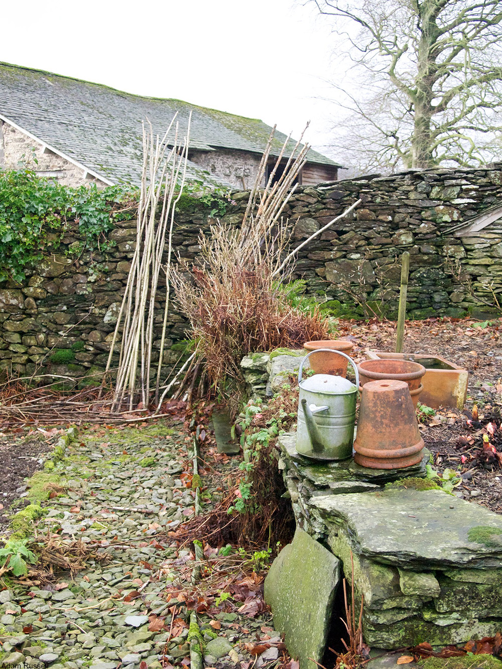 Hill Top garden, Cumbria, UK