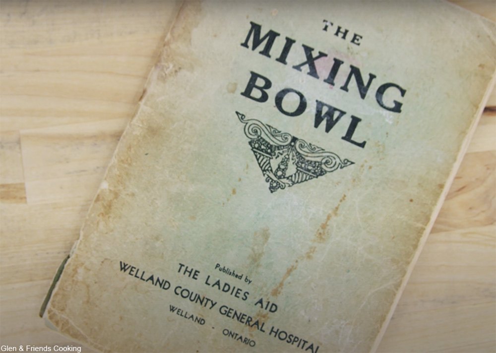 1930s community cookbook