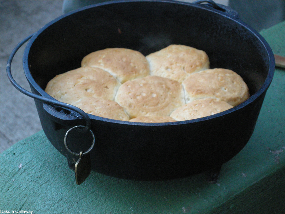 biscuits made in a dutch oven