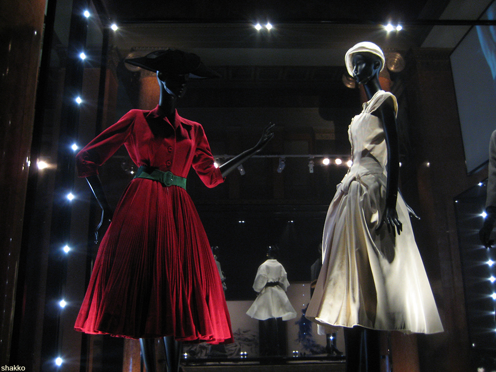 Christian Dior exhibit in Moscow, 2011