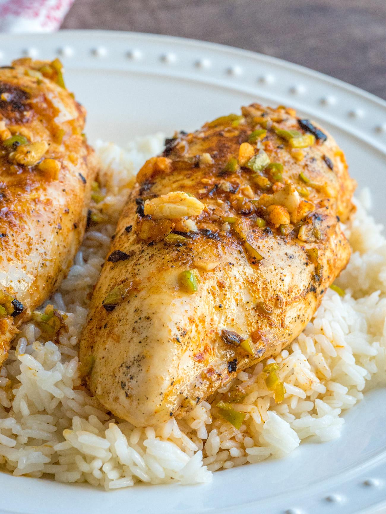 spicy piri piri chicken