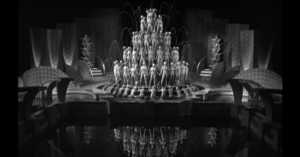 waterfall scene from Footlight Parade