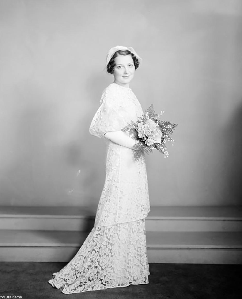 1930 bridal portrait