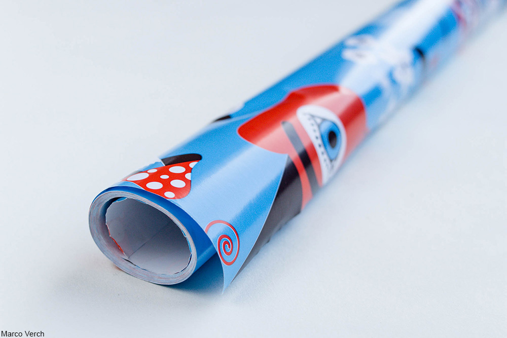 roll of wrapping paper