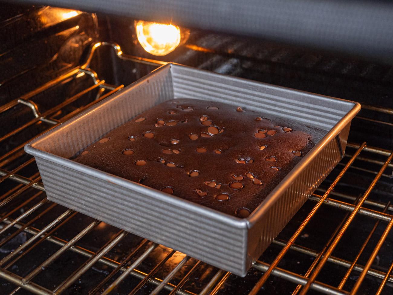 making black bean brownies
