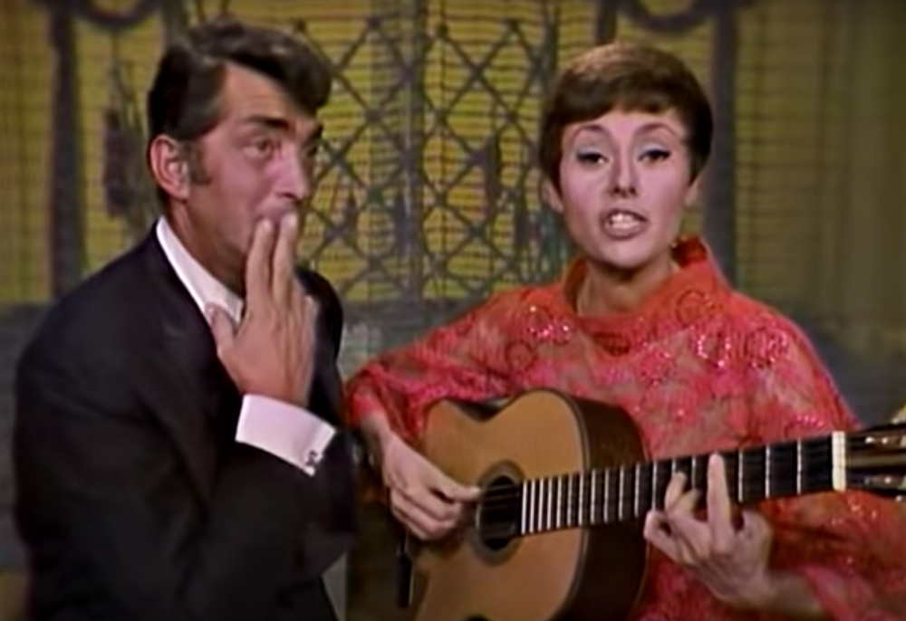 Caterina Valente on The Dean Martin Show