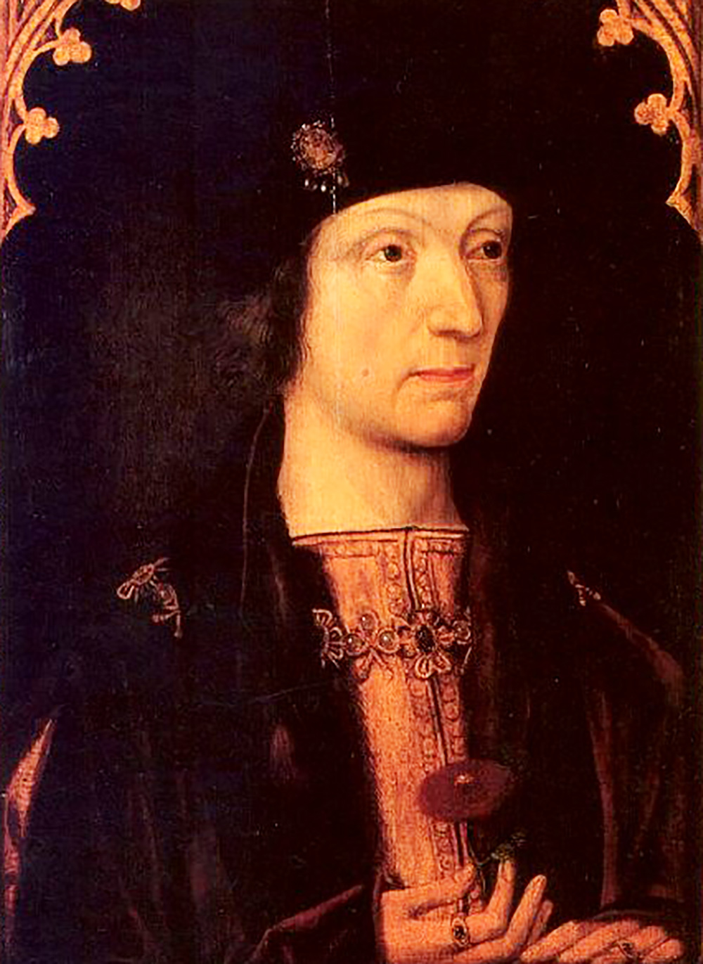 Painting of King Henry VII