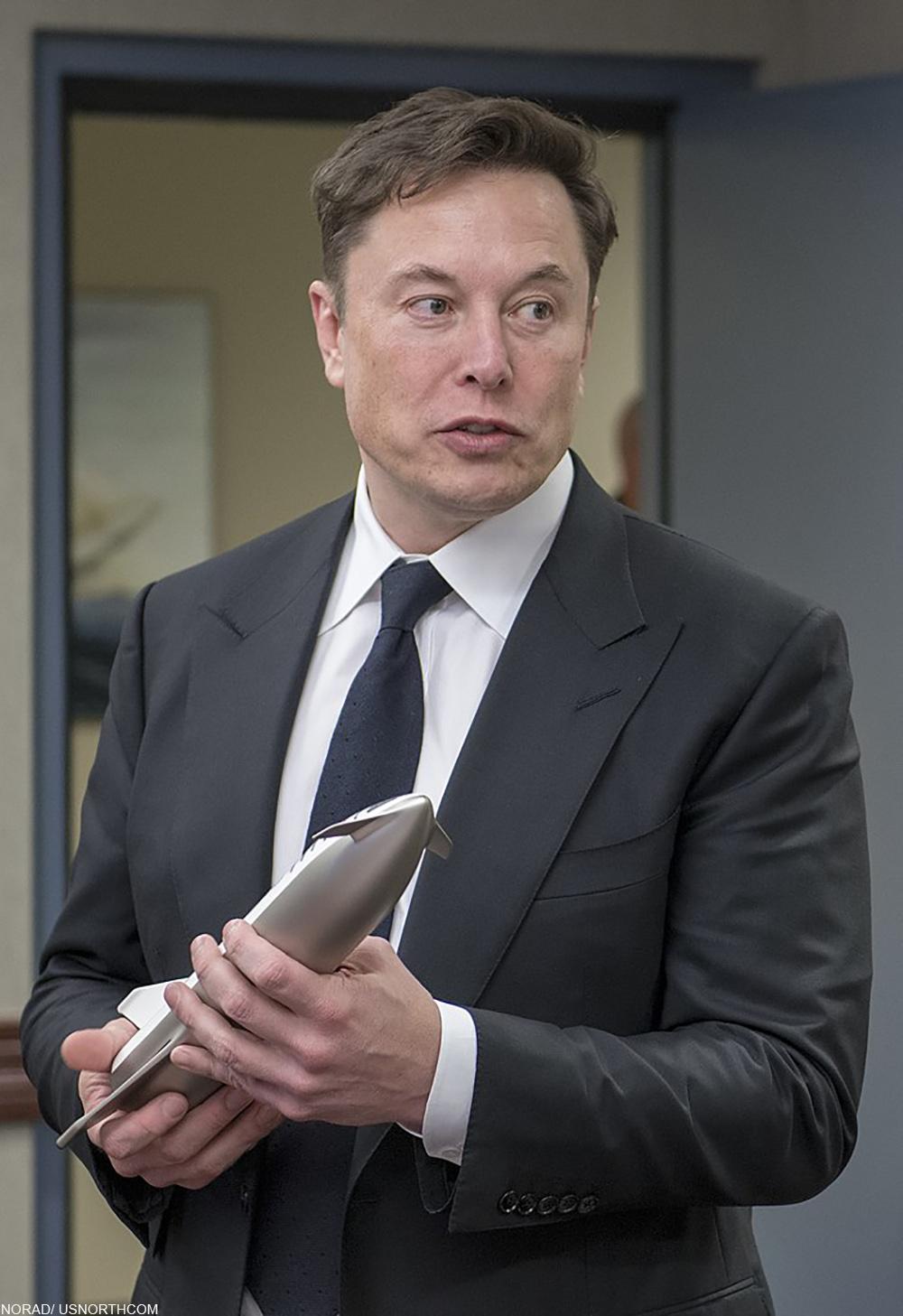 Elon Musk in 2019